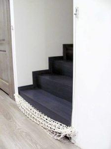 Składana siatka na schody